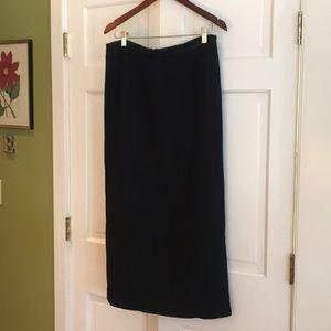 Gap mid calf skirt